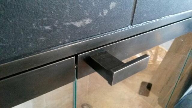 Fireplace Door Handle Steelwoodglass
