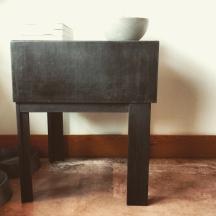 sweet steel table